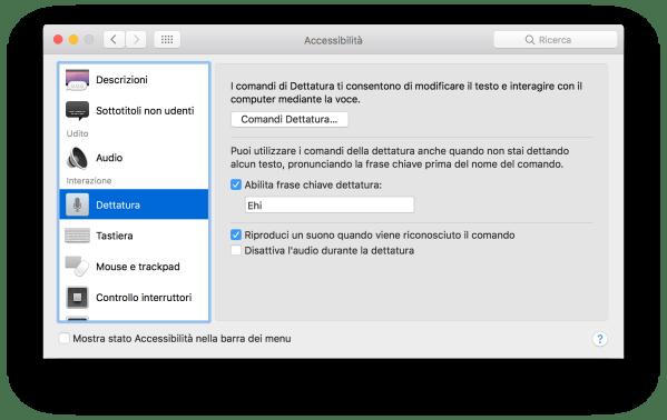 schermata 2016 09 21 alle 10.52.02 Come attivare Siri su Mac pronunciando Ehi Siri