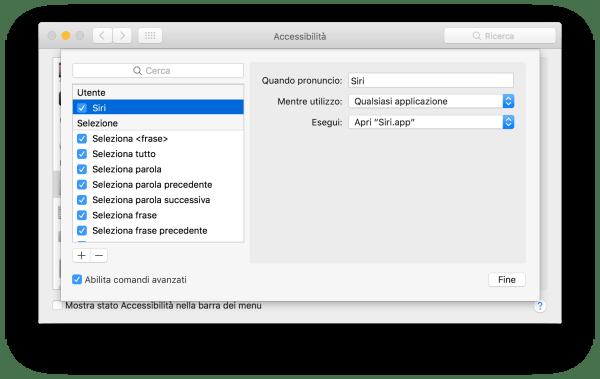 schermata 2016 09 21 alle 10.53.41 Come attivare Siri su Mac pronunciando Ehi Siri