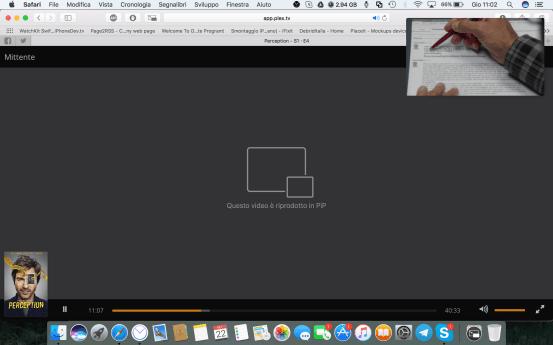 schermata 2016 09 22 alle 11.02.54 Un estensione per Safari porta Picture in Picture su Netflix, Plex, YouTube e molti altri siti