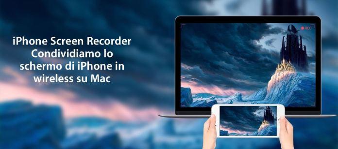banner iphone screen recorder AceThinker iPhone Screen Recorder: Permette di registrare lo schermo di iPhone in wireless su Mac e Windows
