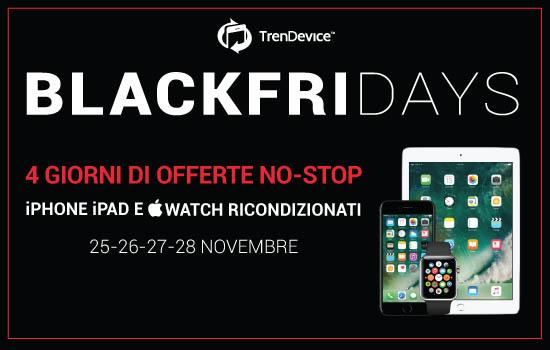 blackfriday trendevice BlackFriDays TrenDevice: 4 giorni di sconti NO STOP!