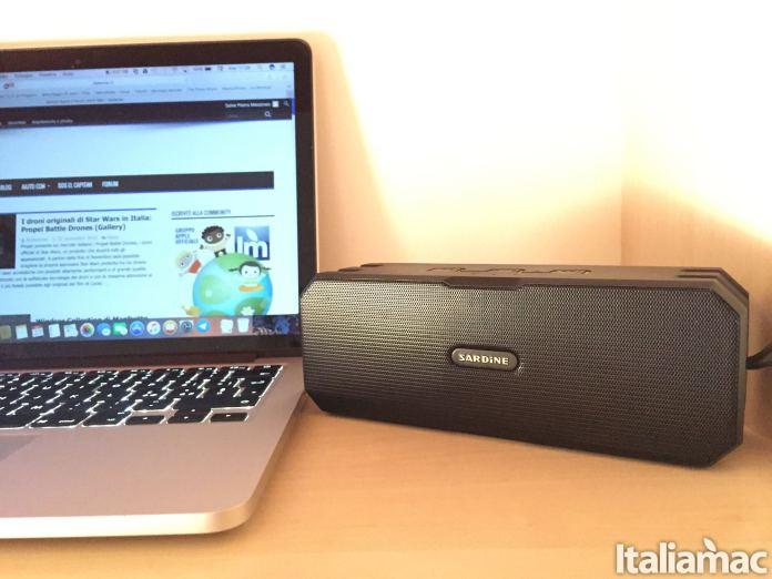 sardine banner Sardine F4: lo speaker wireless stereo resistente allacqua