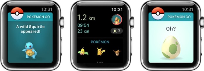 apple watch pokemon go Pokémon GO sbarca su Apple Watch