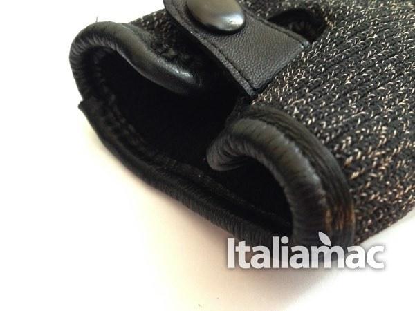 mujjo dettaglio rif polso Mujjo Double Layer: guanti doppio strato completamente touch