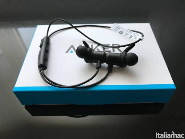 anker soundbuds slim  SoundBuds Slim: Cuffie sportive Bluetooth in ear di Anker
