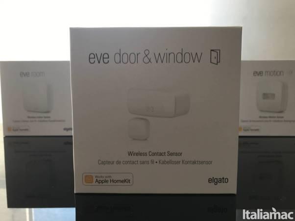 eve doorwindow pack Eve Door & Window: Sensore in grado di rilevare se ci sono porte o finestre aperte