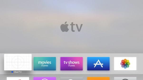libertv guide home screen app 1024x576 Rilasciato liberTV per effettuare il jailbreak di Apple TV 4