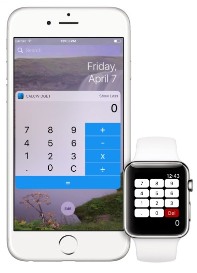 Apple Watch iPhone Demo EasyCalc: L'app per calcoli veloci a portata di polso