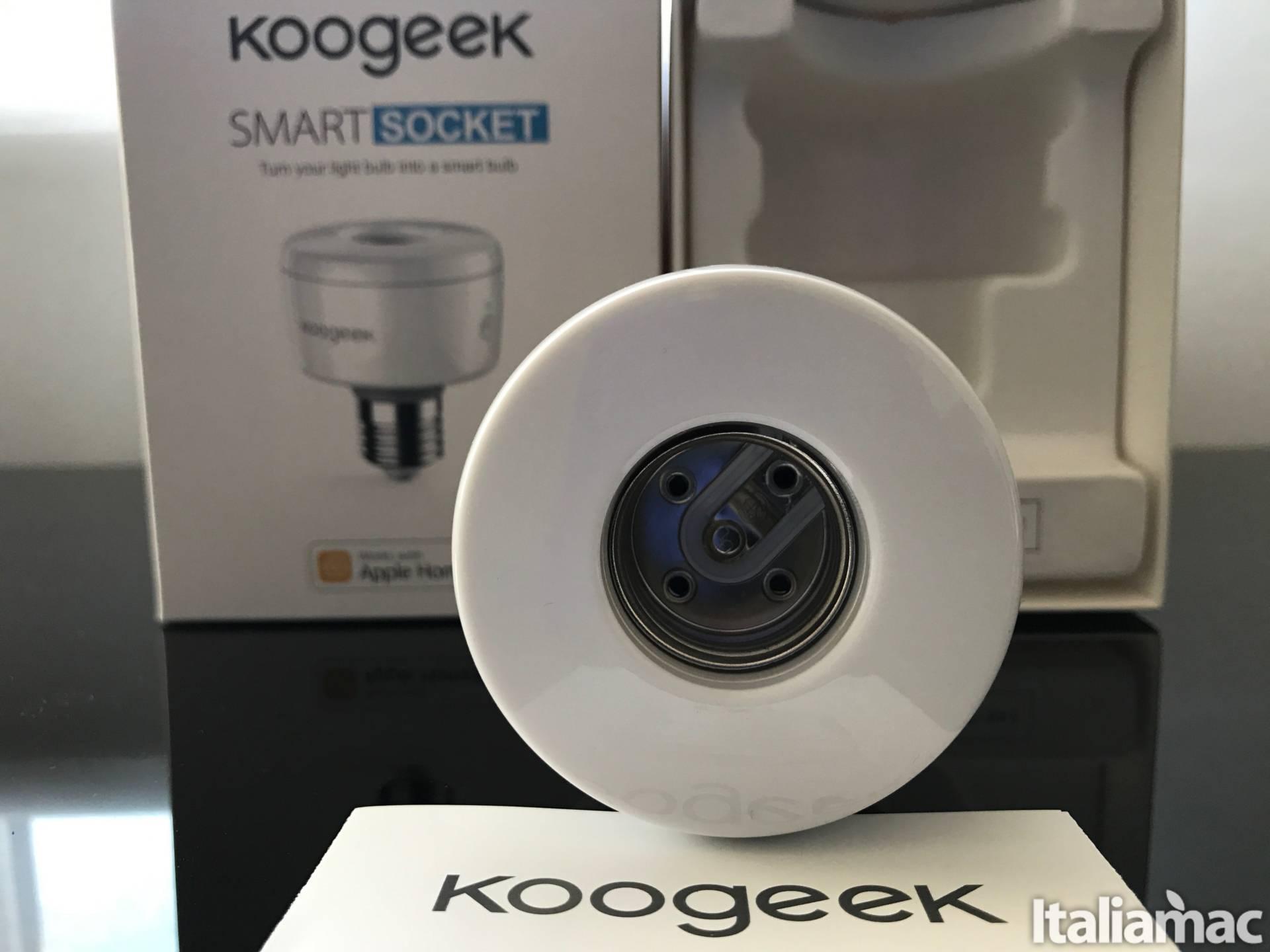 %name Kogeek Smart Socket: Trasforma la lampadina in un accessorio compatibile con HomeKit
