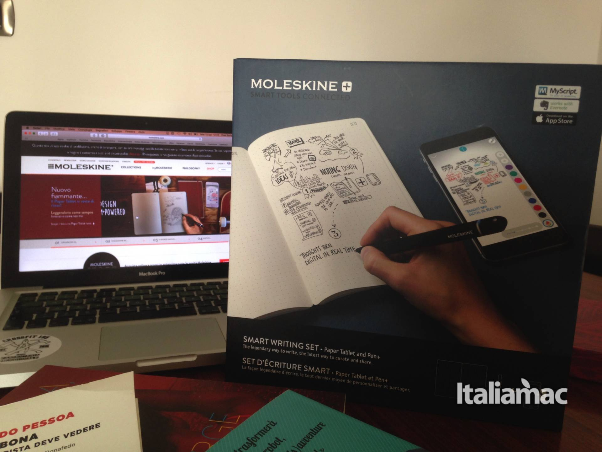 %name Scrittura 2.0 con lo Smart Writing Set di Moleskine