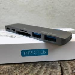 QacQoc Hub USB-C Front