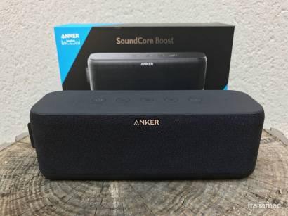 %name SoundCore Boost: Qualità del suono e design made by Anker