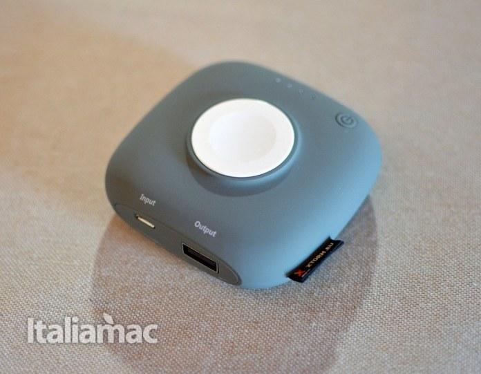 www.italiamac.it powerbank apple watch xtorm11 Xtorm XPD17 Apple Watch Charger Boost: Un powerbank magnetico per Apple Watch e iPhone
