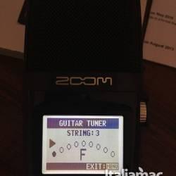 Zoom h2n guitar tune