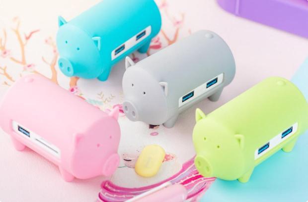 www.italiamac.it 141 620x408 Piggy HUB di Orico: un simpatico HUB USB 3