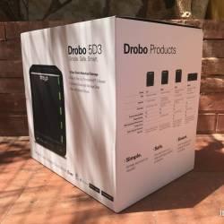 Drobo 5D3 Angle Pack
