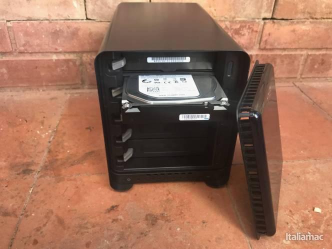 www.italiamac.it img 3668 Drobo 5D3: Il DAS per casa e ufficio dotato di USB C