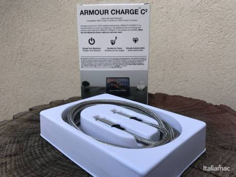 %name Armour Charge C2: Il cavo USB C quasi indistruttibile per MacBook