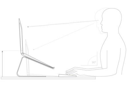 www.italiamac.it curve lo stand per macbook di twelvesouth 01a999e72bd00162009dedc47ff6015834f1f7c7 Curve: Lo stand con design minimalista per MacBook di TwelveSouth