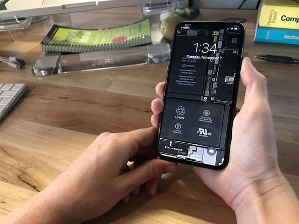 %name Spogliamo iPhone X con gli sfondi di iFixit