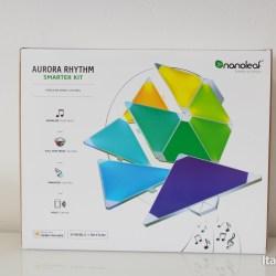 Nanoleaf Aurora Rythm Front Pack