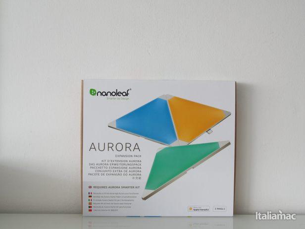 %name Nanoleaf Light Panels Rhythm: I pannelli LED componibili compatibili con HomeKit