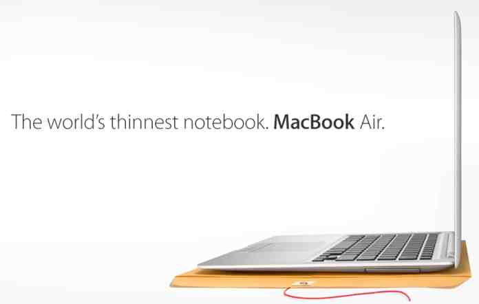 italiamac macbook air Slitta il lancio del MacBook Air economico