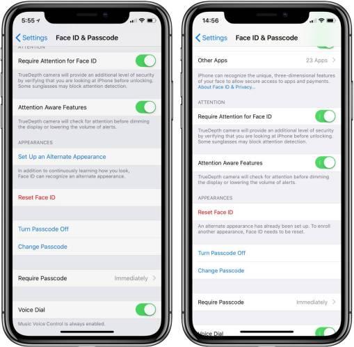 italiamac italiamac png image cc55ea9417ca 1 iOS 12 permetterà di aggiungere 2 volti al Face ID