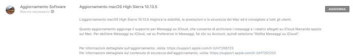 italiamac italiamac schermata 2018 06 01 alle 20.21.49 macOS 10.13.5 disponibile al download per Mac