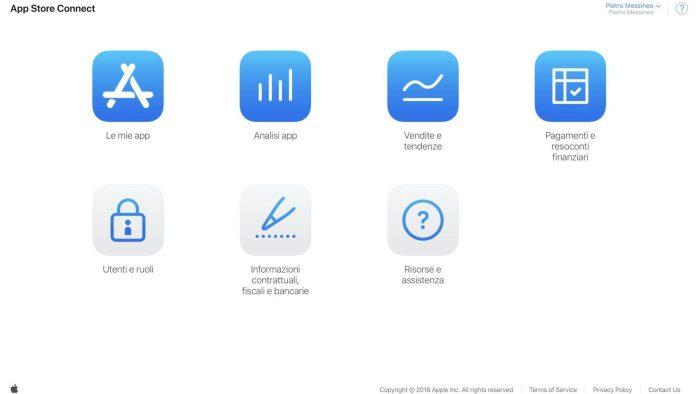 italiamac italiamac schermata 2018 06 05 alle 10.57.50 e1528189662651 Apple rilascia App Store Connect per gli sviluppatori