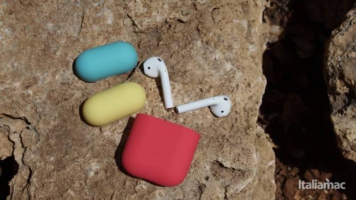 italiamac p7261348 Elago Italian Rose e Coral Blu: Il case in silicone morbido per AirPods