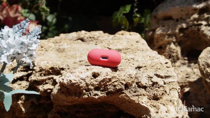 italiamac p7261357 Elago Italian Rose e Coral Blu: Il case in silicone morbido per AirPods