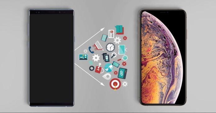 italiamac iphone xs data transfer 1024x538 Trasferisci tutti i file dal computer alliPhone XS (Max) con o senza iTunes