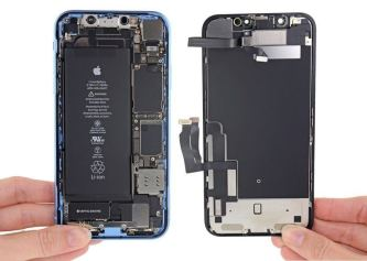 %name iPhone XR Teardown