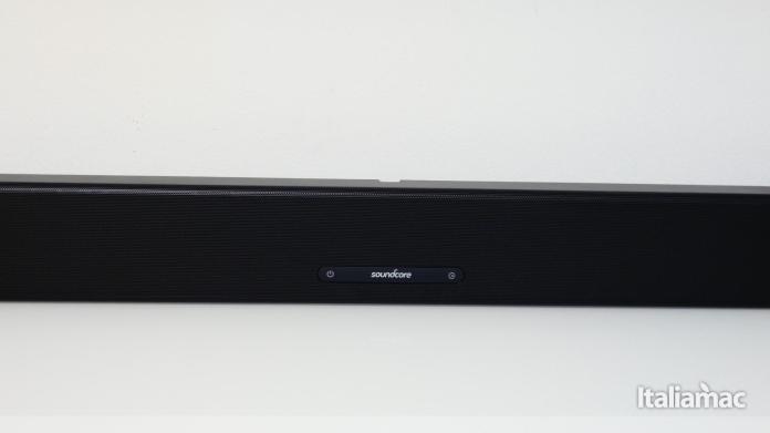 italiamac p1010293 Soundcore Infini la soundbar potente con subwoofer integrati