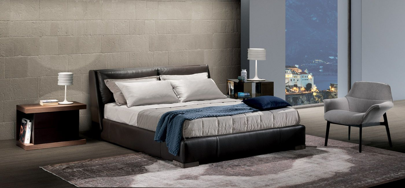Fenice Bed Beds Bedroom Natuzzi Italia Modern Furniture