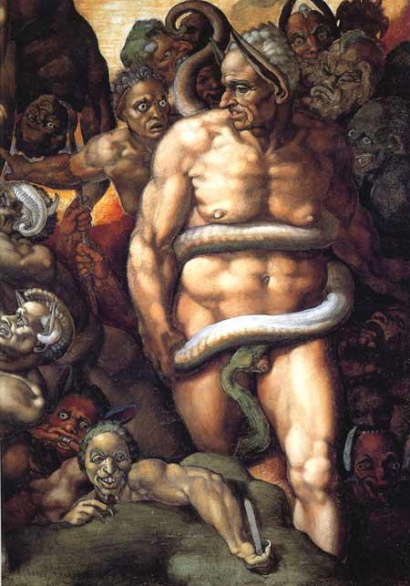 Satan Michelangelo