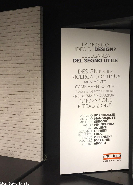 made in italy - snaidero blogtour #conoscisnaidero @italianbark