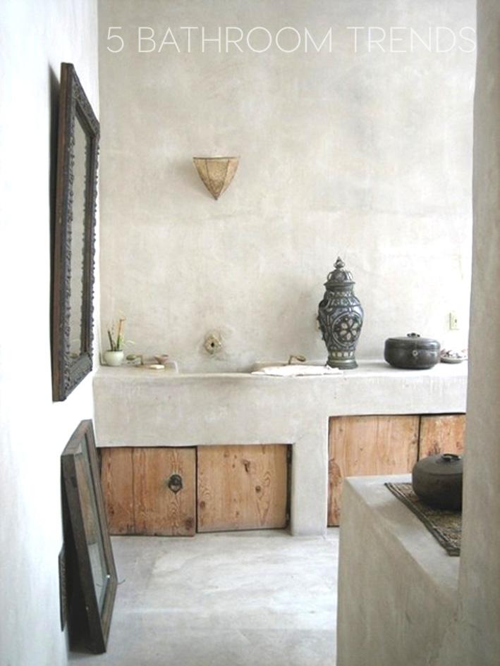 5 bathroom trends for 2015 from ekco italianbark for Bathroom trends 2015