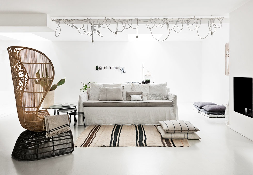 A Scandinavian interior in Italy Milan