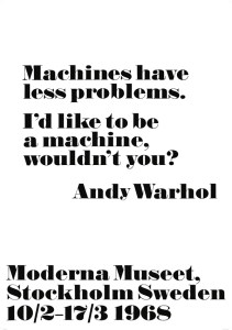 Andy Warhol Quotes Inspiration Andy Warhol Quote Posters And Other Typo Posters Are A Decor Trend