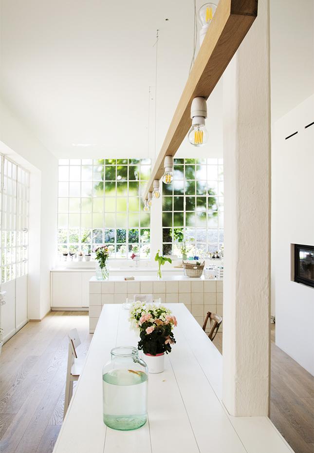 Attractive Italian Style Interior Kitchen