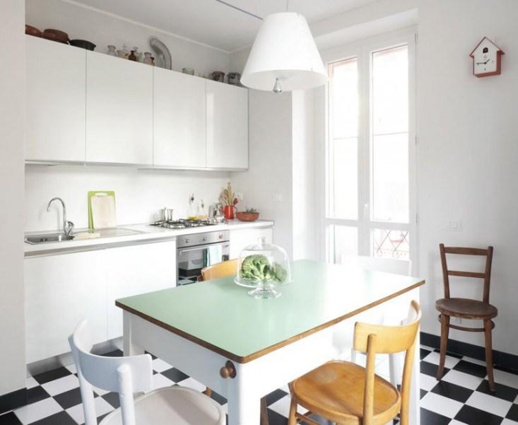 Kitchen Interior Italian Vintage Style