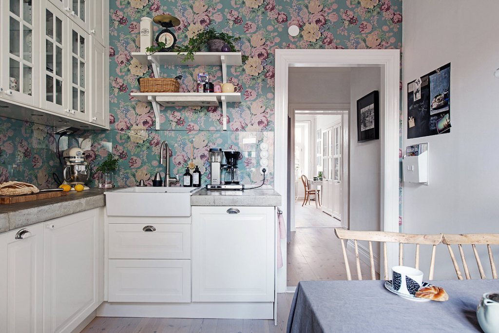 Floral Home Decor Kitchen 3