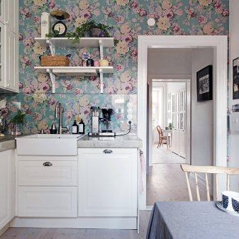 Floral Home Decor Kitchen 3