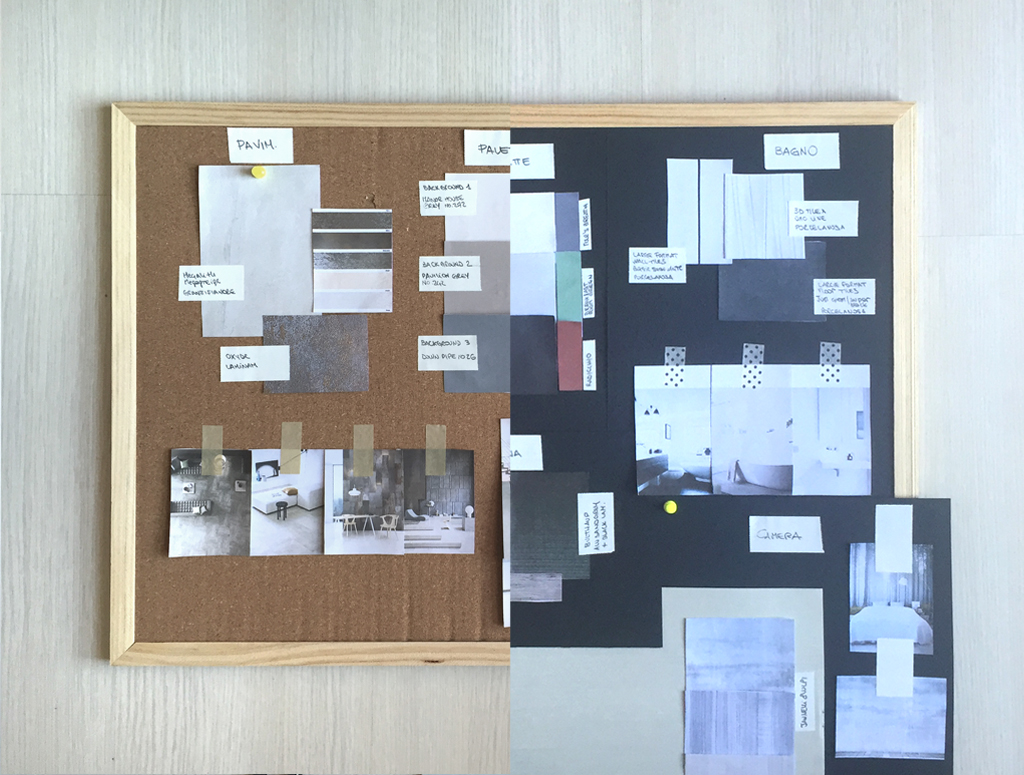 New Online Interior Design Advice Materials Palette