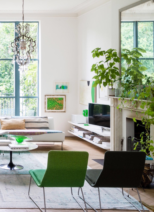 7 amazing pantone 2017 interiors in greenery color of the