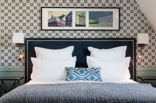 boutique hotel paris, adele et jules, italianbark interior design blog, hotel bedroom