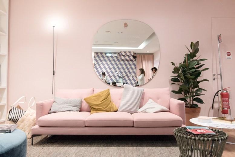best of brera design week, milan design week 2017, italianbark, pink interior