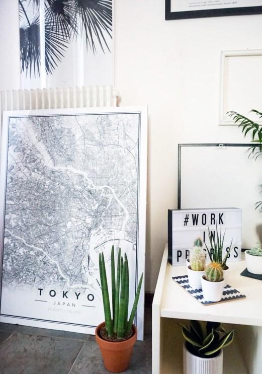 mapiful, custom poster map, italianbark interior design blog, original lightbox